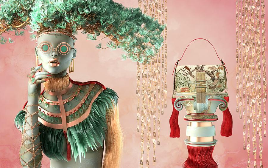 Fendi Muses by Blake Kathryn