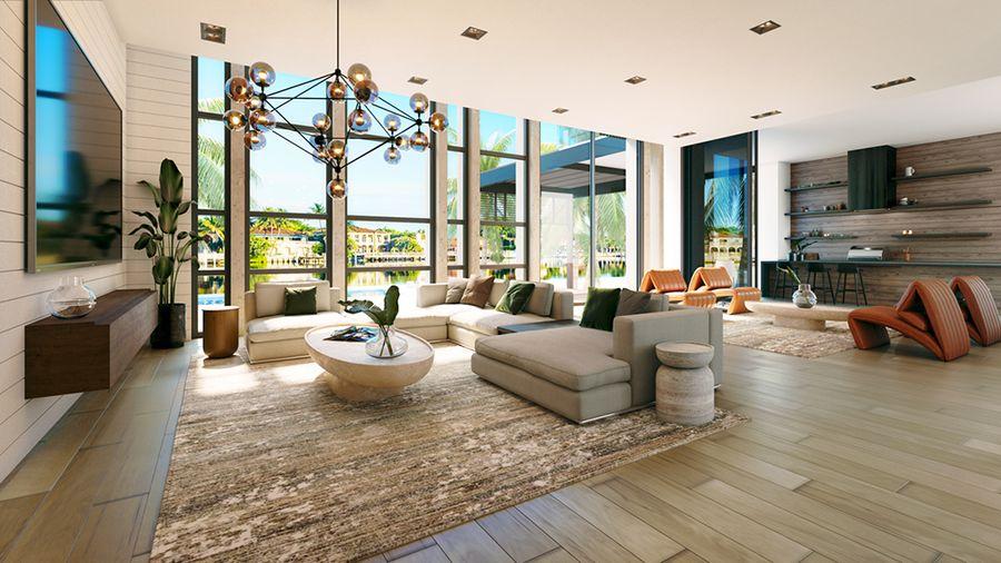 Modern pajta Miami Beach-en