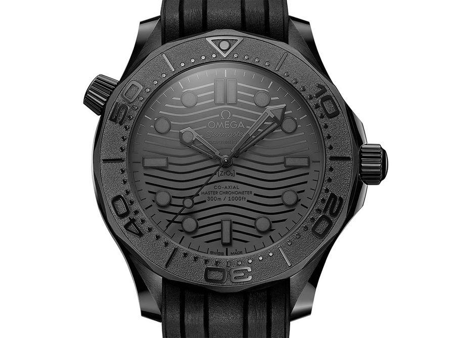 Seamaster Diver 300M Black