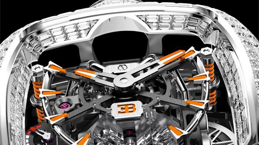 Bugatti Chiron Tourbillon Baguette